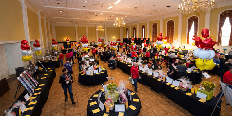 silent auction university of maryland family weekend 2018